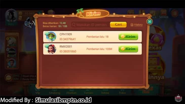 2. Berinteraksi Dengan Player Lainnya