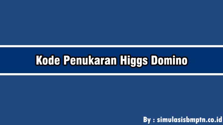 Cover Kode Penukaran Higgs Domino