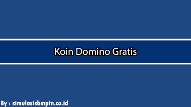 Cover Koin Domino Gratis