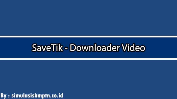 Cover SaveTik