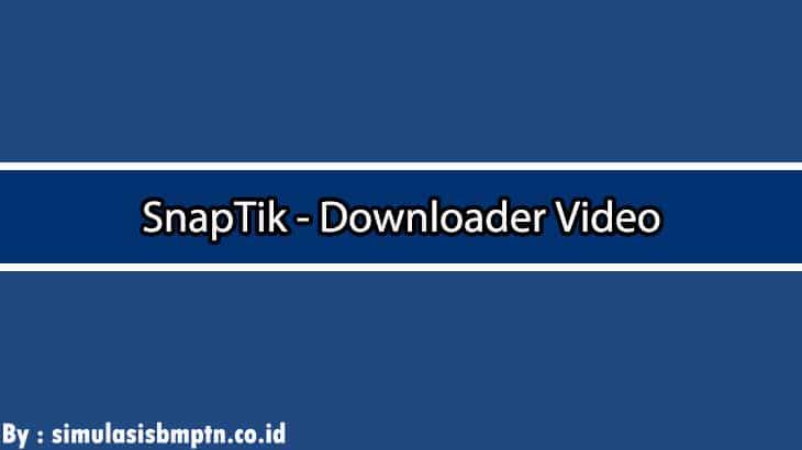 Cover SnapTik